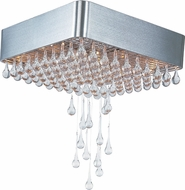 Maxim 30720CLAL Drops Contemporary Brushed Aluminum Halogen Ceiling Light