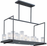 Maxim 32467FTTXB Urban Nights Contemporary Textured Black Kitchen Island Lighting