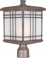 Maxim 3320FSET Sienna Craftsman Earth Tone Exterior Lamp Post Light