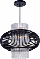 Maxim 38387CLAR Aviary Contemporary Anthracite LED Lighting Pendant