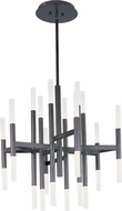 Maxim 39756FTBZ Pinnacle LED Contemporary Bronze Ceiling Chandelier