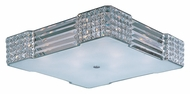 Maxim 39781BCPC Manhattan Polished Chrome Finish 23.25  Wide Xenon Ceiling Light