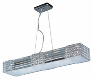 Maxim 39785BCPC Manhattan Polished Chrome Finish 4.75  Tall Xenon Lighting For Bathroom