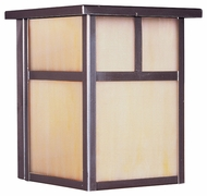Maxim 4050HOBU Coldwater Craftsman Burnished 7.5  Tall Outdoor Wall Lamp