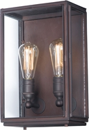 Maxim 4067CLOI Pasadena Contemporary Oil Rubbed Bronze Exterior Lighting Sconce