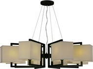 Maxim 43558LNDBZ Baldwin Contemporary Dark Bronze LED Ceiling Chandelier