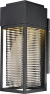 Maxim 53599GBKSST Townhouse Modern Galaxy Black / Stainless Steel LED Exterior Wall Lighting Sconce