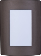 Maxim 54322WTBZ View EE Contemporary Bronze Outdoor Wall Lighting