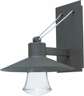 Maxim 54364CLABZ Civic Modern Architectural Bronze LED Exterior Wall Mounted Lamp