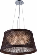 Maxim 54372CH Bahama Contemporary Chocolate LED 16  Pendant Hanging Light