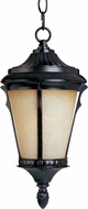 Maxim 55019LTES Odessa LED Traditional Espresso Exterior Lighting Pendant