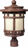 Maxim 55036MOSE Santa Barbara LED Sienna Exterior Lighting Post Light