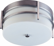 Maxim 55217WTBM Luna LED Contemporary Brushed Metal Outdoor Ceiling Lighting Fixture