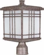 Maxim 55690FSET Sienna LED Craftsman Earth Tone Exterior Lighting Post Light