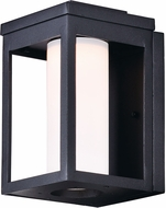Maxim 55902SWBK Salon LED Modern Black LED Outdoor Wall Sconce Light