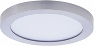 Maxim 57710WTSN Wafer LED Modern Satin Nickel LED Outdoor Flush Mount Lighting Fixture