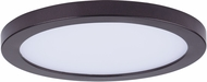 Maxim 57712WTBZ Wafer LED Modern Bronze LED Outdoor Flush Mount Ceiling Light Fixture