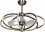 Maxim 60006PC Fandelier Modern Polished Chrome Home Ceiling Fan