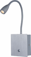Maxim 60100SV Hotel Modern Silver LED Task Light / Sconce Lighting