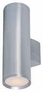 Maxim 6102AL Lightray Modern Brushed Aluminum Finish 5  Wide Exterior Wall Mounted Lamp