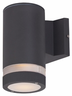 Maxim 6110ABZ Lightray Contemporary Architectural Bronze Finish 8  Tall Outdoor Wall Light Sconce