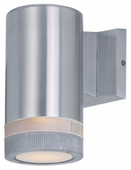 Maxim 6110AL Lightray Modern Brushed Aluminum Finish 4.25  Wide Exterior Wall Lighting Fixture