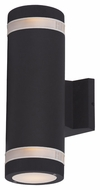 Maxim 6112ABZ Lightray Contemporary Architectural Bronze Finish 12  Tall Outdoor Wall Light Sconce