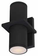 Maxim 6115ABZ Lightray Contemporary Architectural Bronze Finish 10.25  Tall Outdoor Wall Sconce