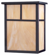 Maxim 85051HOBU Coldwater EE Craftsman Burnished 11  Tall Outdoor Wall Lighting Fixture