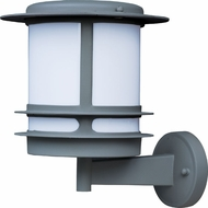 Maxim 85312WTPL Oslo EE Platinum Exterior Wall Sconce Lighting