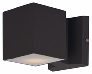 Maxim 86107ABZ Lightray LED Contemporary Architectural Bronze Finish 4  Tall Outdoor Wall Lamp