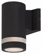 Maxim 86110ABZ Lightray LED Contemporary Architectural Bronze Finish 8  Tall Outdoor Wall Sconce Lighting