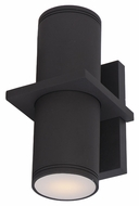 Maxim 86115ABZ Lightray LED Contemporary Architectural Bronze Finish 10.25  Tall Outdoor Wall Sconce Lighting