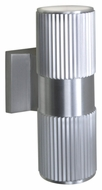 Maxim 86126AL Lightray LED Modern Brushed Aluminum Finish 4.25  Wide Exterior Lighting Sconce