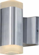 Maxim 86132AL Lightray Modern Brushed Aluminum LED Outdoor Wall Lighting Sconce