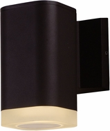Maxim 86134ABZ Lightray Contemporary Architectural Bronze LED Exterior Wall Sconce Lighting