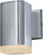 Maxim 86134AL Lightray Modern Brushed Aluminum LED Outdoor Wall Mounted Lamp