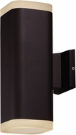 Maxim 86138ABZ Lightray Contemporary Architectural Bronze LED Exterior Wall Sconce
