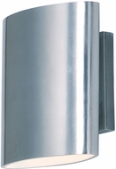 Maxim 86152AL Lightray LED Modern Brushed Aluminum LED Exterior Wall Light Sconce