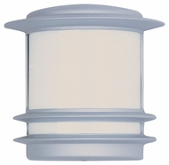 Maxim 86192WTPL Zenith EE Contemporary Platinum 9.5  Tall Outdoor Wall Light Sconce