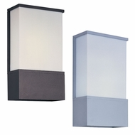 Maxim 86195WT Zenith EE Modern 8  Wide Exterior Wall Sconce Light