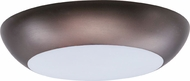 Maxim 87610WTBZ Diverse LED Contemporary Bronze LED Exterior Flush Mount Ceiling Light Fixture