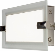 Maxim 87622CLFTSN Trim Contemporary Satin Nickel LED 12  Bathroom Lighting