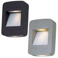 Maxim 88250 Optic LED Contemporary 8  Wide Exterior Wall Sconce Light