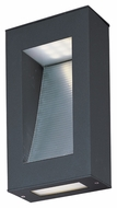 Maxim 88260ABZ Cove Contemporary Architectural Bronze Finish 8  Wide LED Outdoor Wall Lighting Sconce
