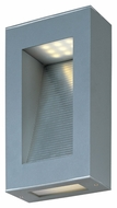 Maxim 88260PL Cove Modern Platinum Finish 11  Tall LED Exterior Wall Sconce Lighting