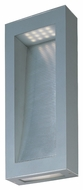 Maxim 88264PL Cove Modern Platinum Finish 18  Tall LED Exterior Wall Light Sconce