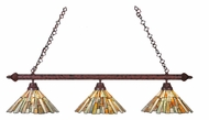 Meyda Tiffany 106741 Jadestone Delta Tiffany Rust Finish 47  Wide Island Lighting