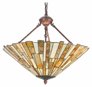 Meyda Tiffany 106806 Jadestone Delta Tiffany 55  Tall Ceiling Light Fixture