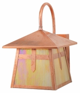 Meyda Tiffany 109766 Stillwater Cross Mission Craftsman Copper Finish 13.5  Tall Exterior Wall Light Fixture